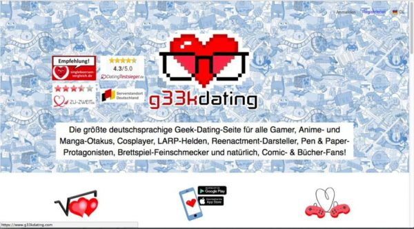 G33kDating.com
